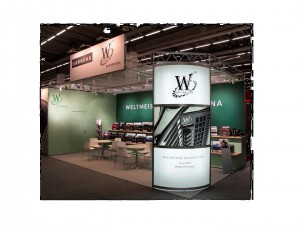 """our new """"Weltmeister"""" booth"""